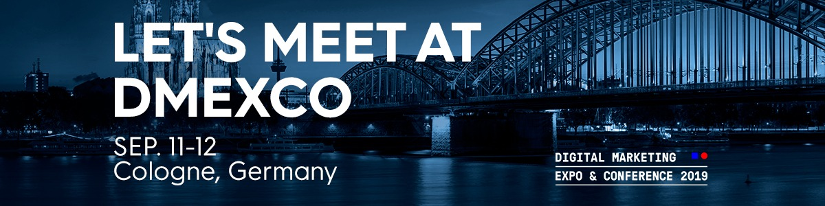 Past Event: DMEXCO – Digital Marketing & Expo Conference 19