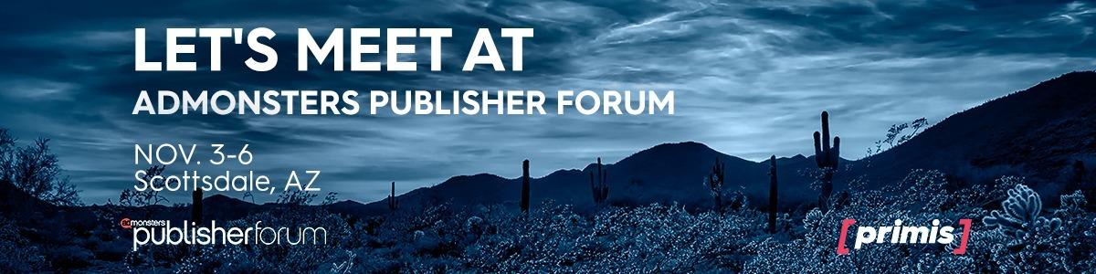 Past Event: AdMonsters Publisher Forum, Scottsdale, AZ