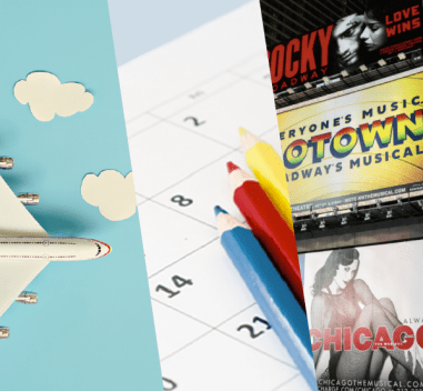 Summer Lovin' Had me a Blast – Travel, Broadway and the New School Year