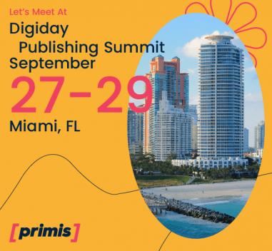 Past Event: Digiday Publishing Summit, Miami, FL